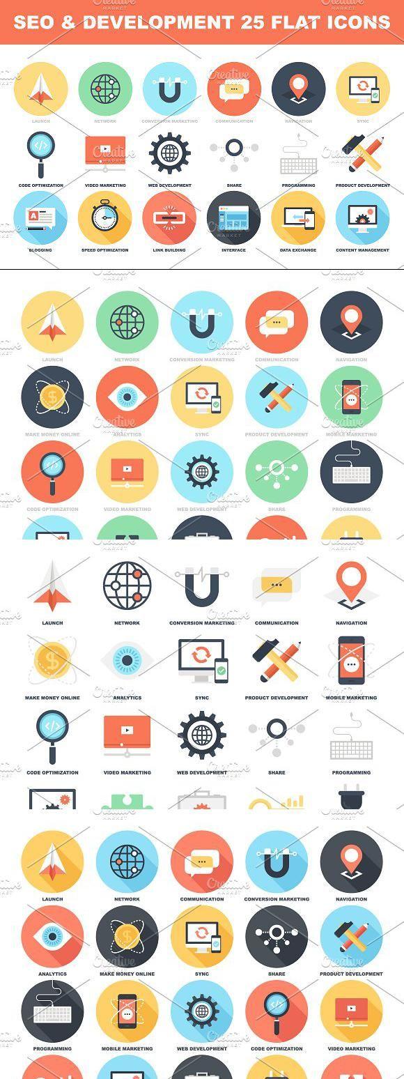 Seo And Development Marketing Icon Best Icons Development
