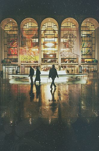 Lincoln Center New York City City Metropolitan Opera
