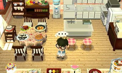 "Kitchen Island Acnl acnl-homes: "" flower—fan: "" last minute kitchen room i made that"