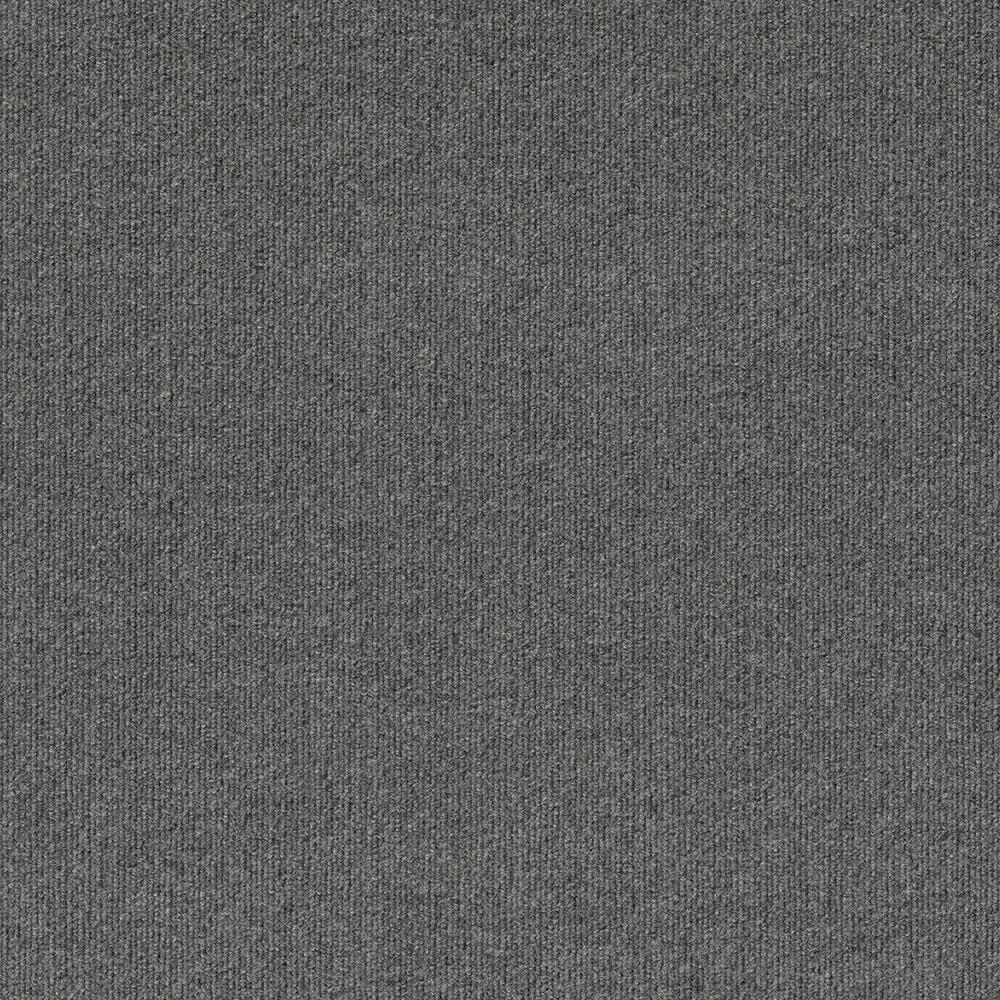 Foss First Impressions Sky Grey Ribbed Texture 24 In X 24 In Commercial Peel And Stick Carpet Tile 15 Ti In 2020 Carpet Tiles Commercial Carpet Tiles Durable Carpet