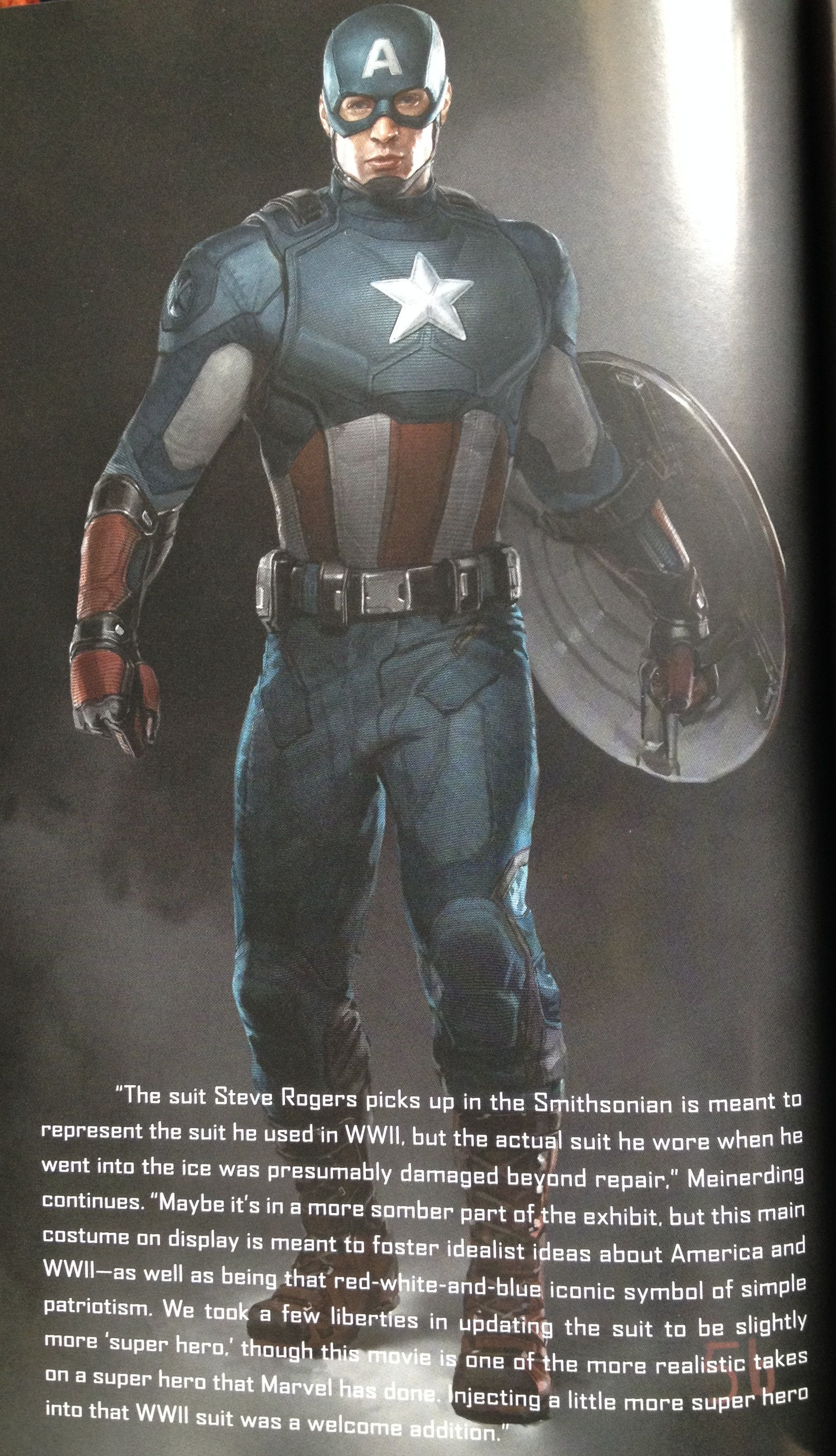 captain america 2 suit concept art the. Black Bedroom Furniture Sets. Home Design Ideas