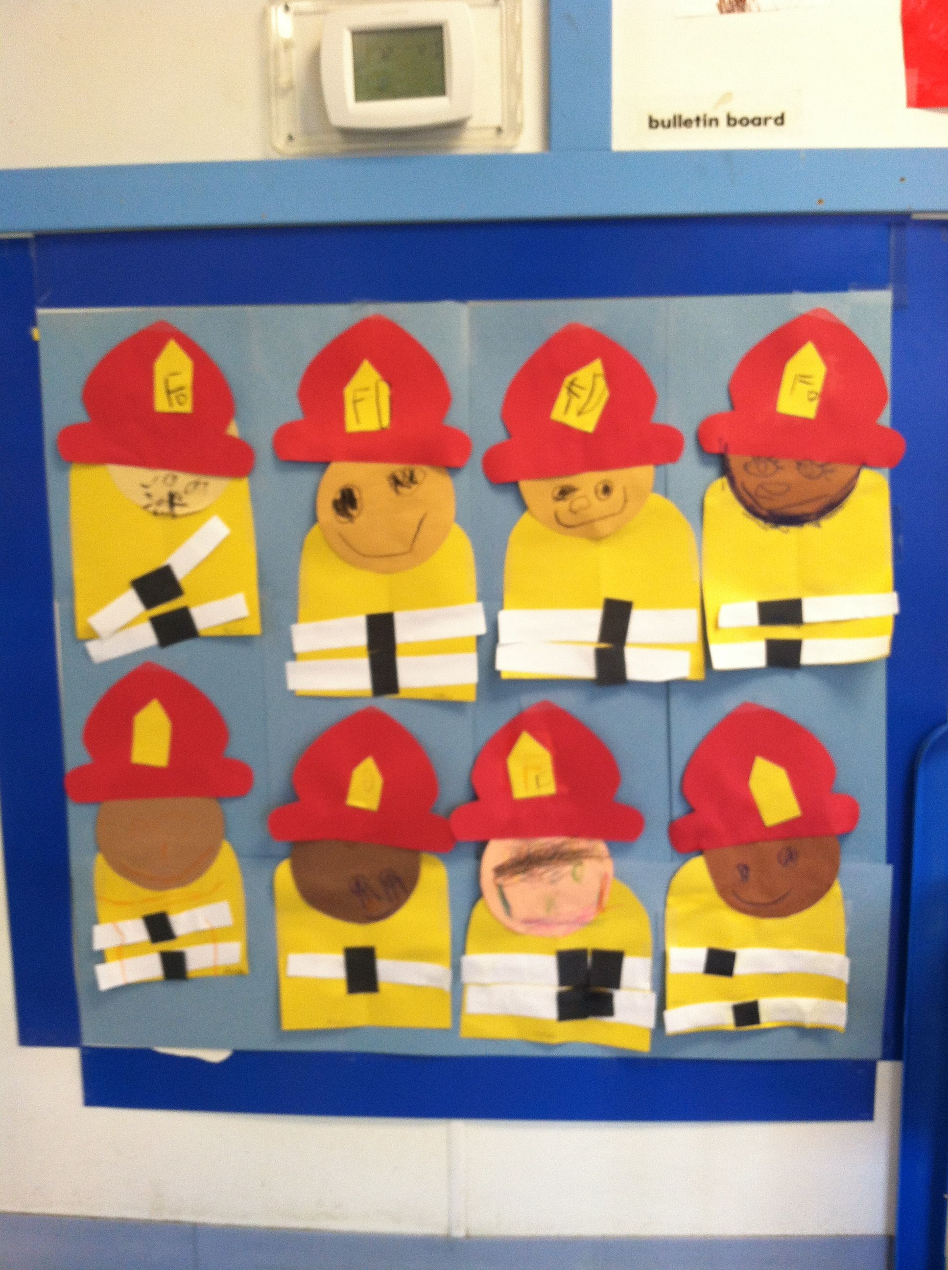 Firefighters For Community Helpers Theme