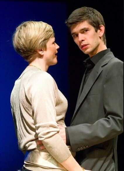 Ben Whishaw and Maxine Peake in 'Leaves of Glass'. Two of my favourite actors!
