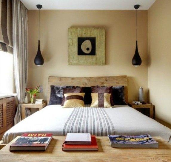 arredare una camera da letto piccola - piccola camera nelle tinte ... - Tinte Camera Da Letto