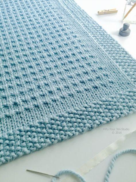 Third Street Blanket New Knitting Pattern Afghans Pinterest