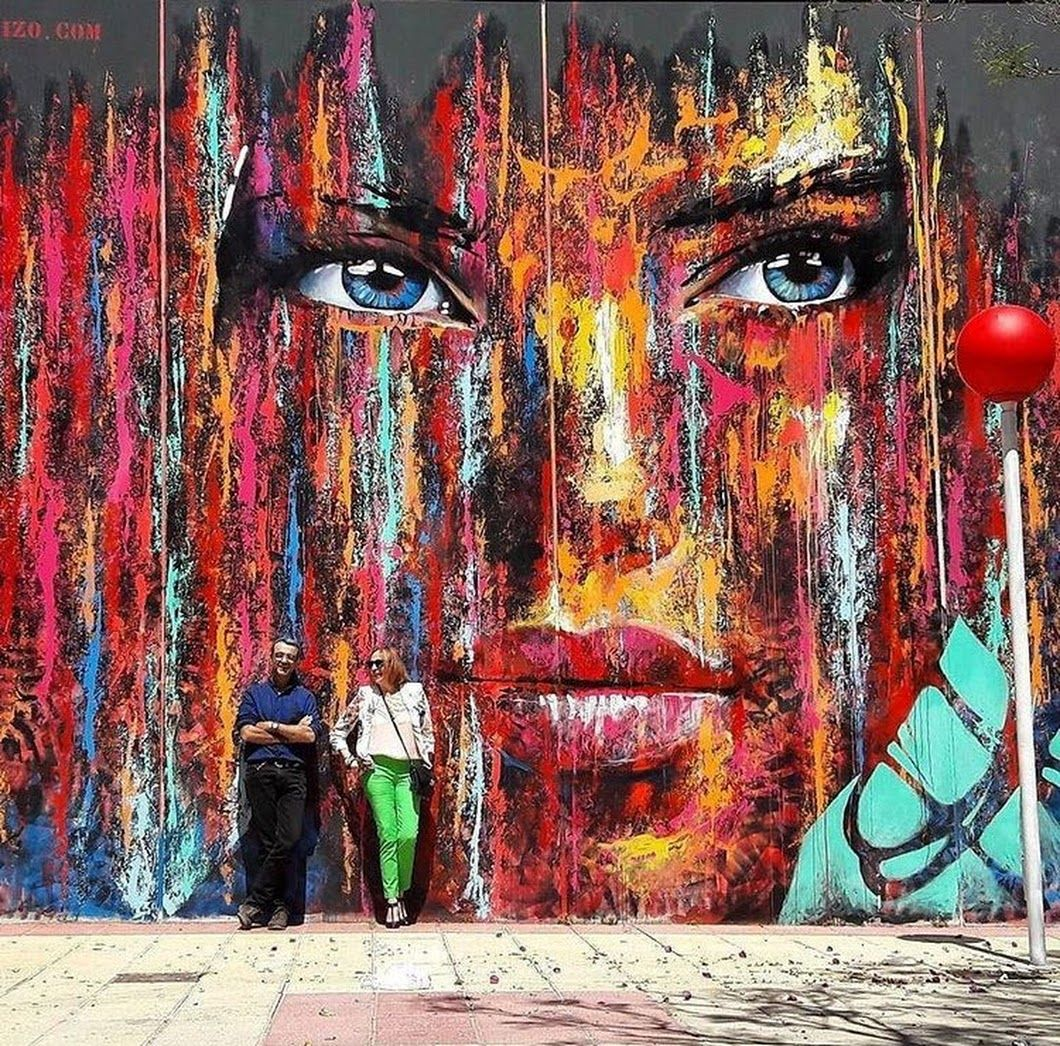 New Street Art By Carlos Callizo Found In Murcia Spain Streetart Graffiti Mural Christian Peters Google