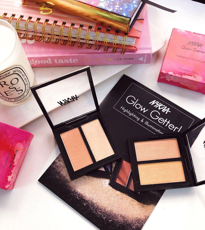Nykaa Highlighters beauty beautyblogger Beauty blogger