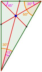 Figura De Un Triángulo Acutángulo Geometría Plana Geometría Triangulos