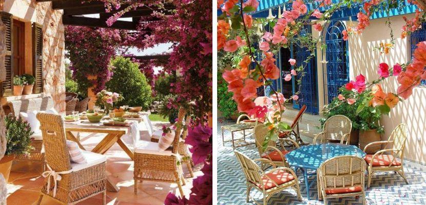 Terraza de primavera en el exterior - http://www.decoora.com/terraza-de-primavera-en-el-exterior/