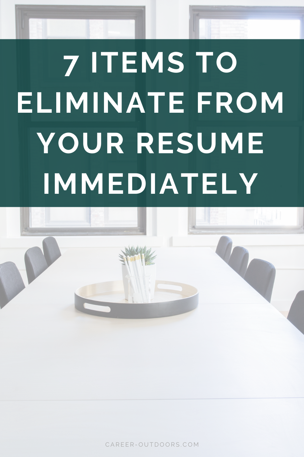 Items To Eliminate From Your Resume In 2021 Resume Makeover Resume Outdoor Jobs