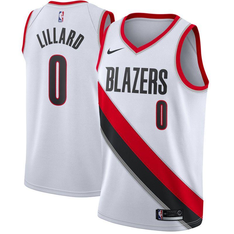 the best attitude b015a fc438 Damian Lillard Portland Trail Blazers Nike Swingman Jersey ...