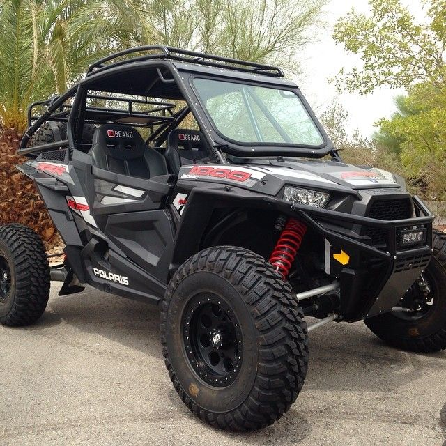 Xp1k Build W Roof Rack Rear Rack Spare Mount And Glass Windshield Custom Truck Beds Atv Quads Rzr