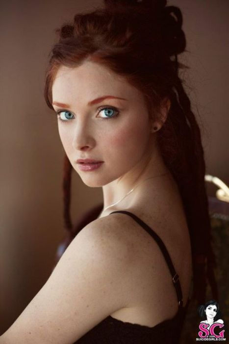 Pale Beauty Portrait Of Blond Woman Stock Image: SolarMovie In 2019