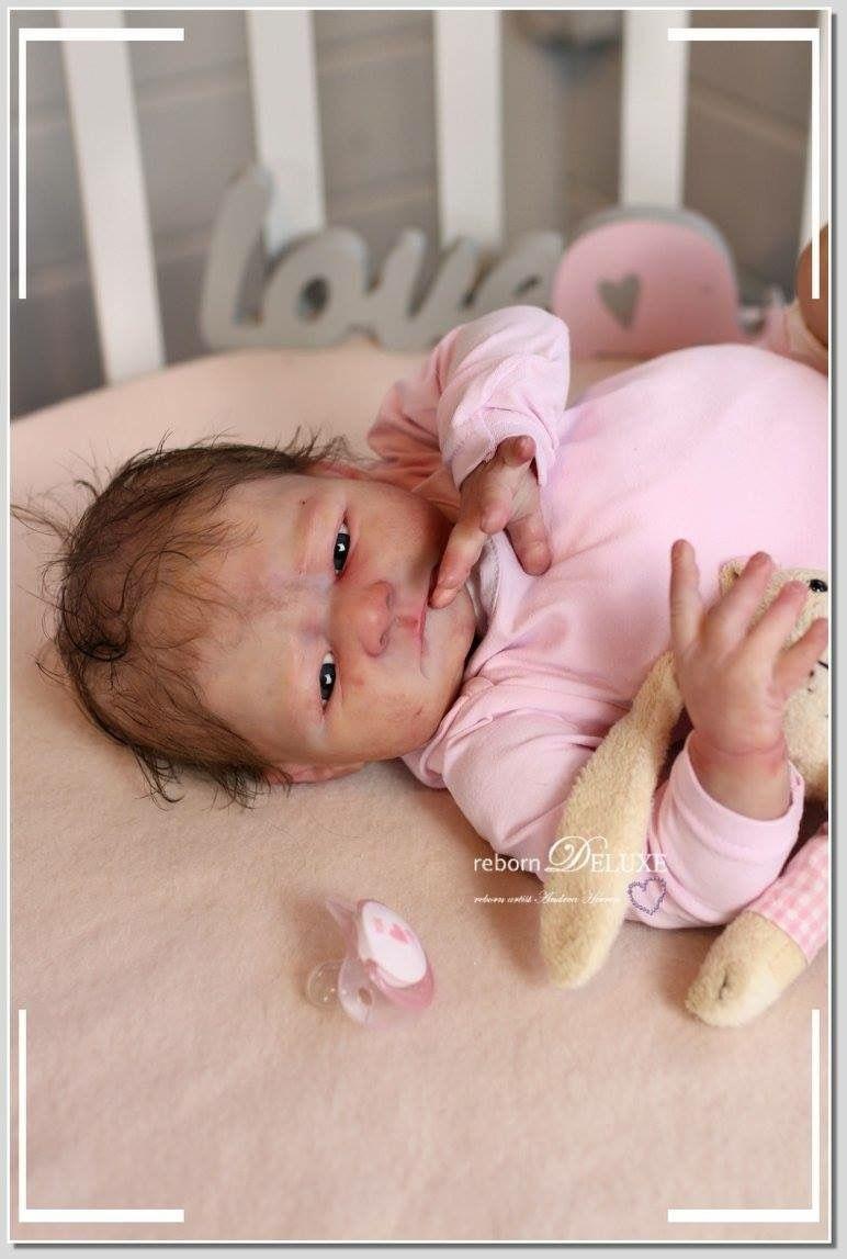 Lainey By Alicia Toner Www Reborn Deluxe Com Rebornbaby Artist Rebornbaby Puppe Fur Sammler Reborned Von Andreahee Bebe Bolsos De Ganchillo Ganchillo