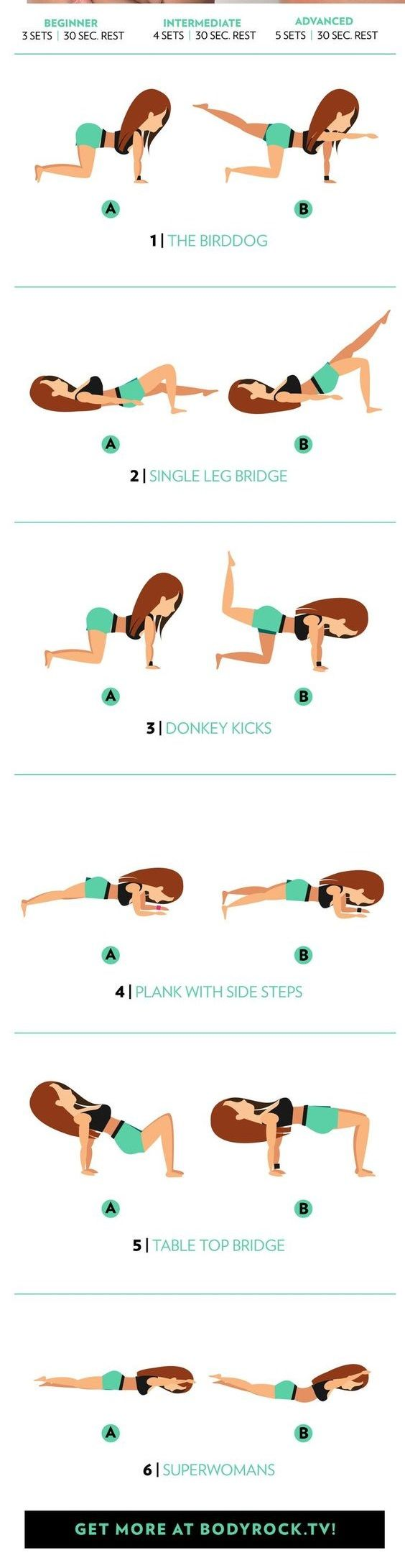 Want to take your butt from flat to full? Check out this better butt workout!