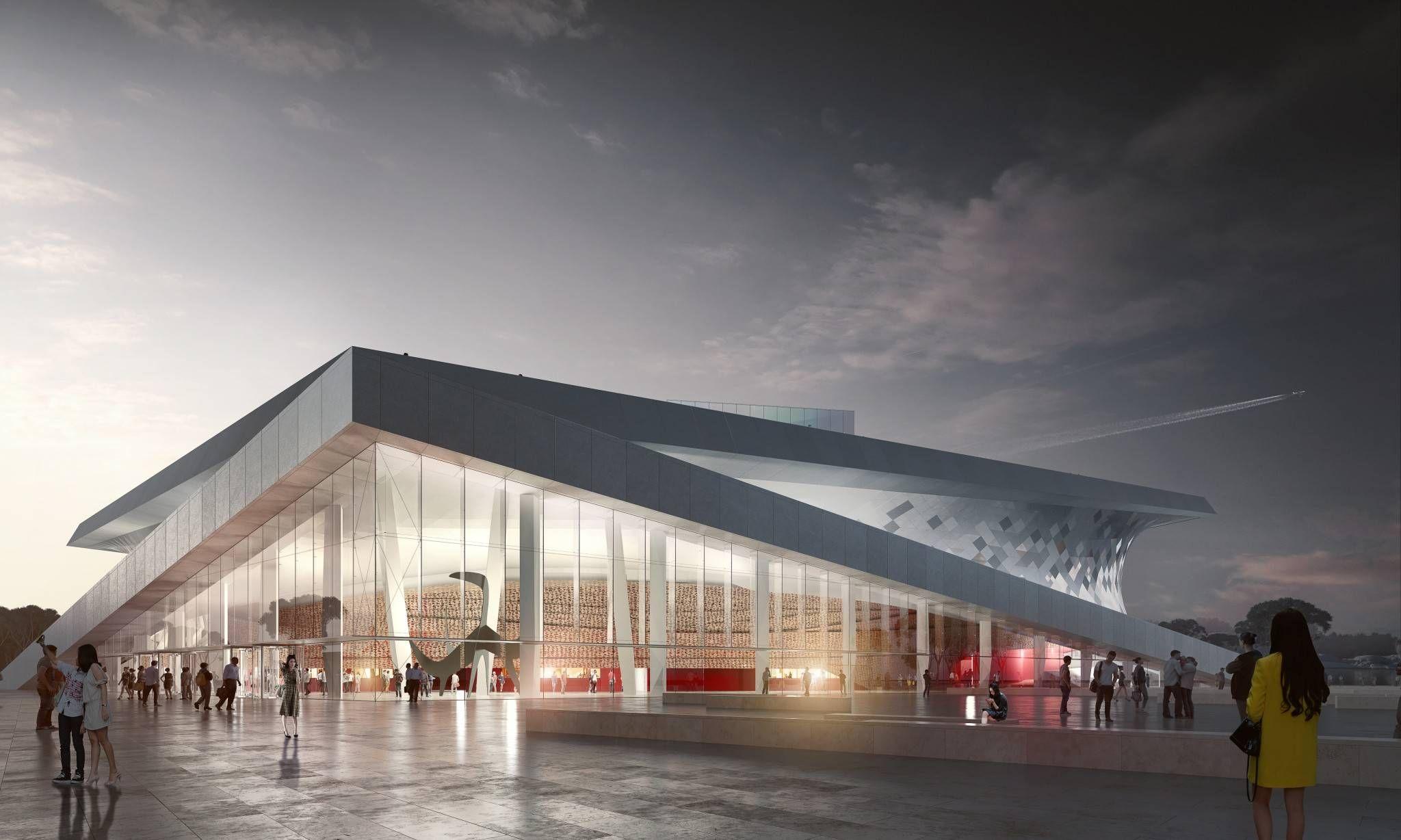 Busan opera house sn hetta and tegmark architecture for Entwurf architektur