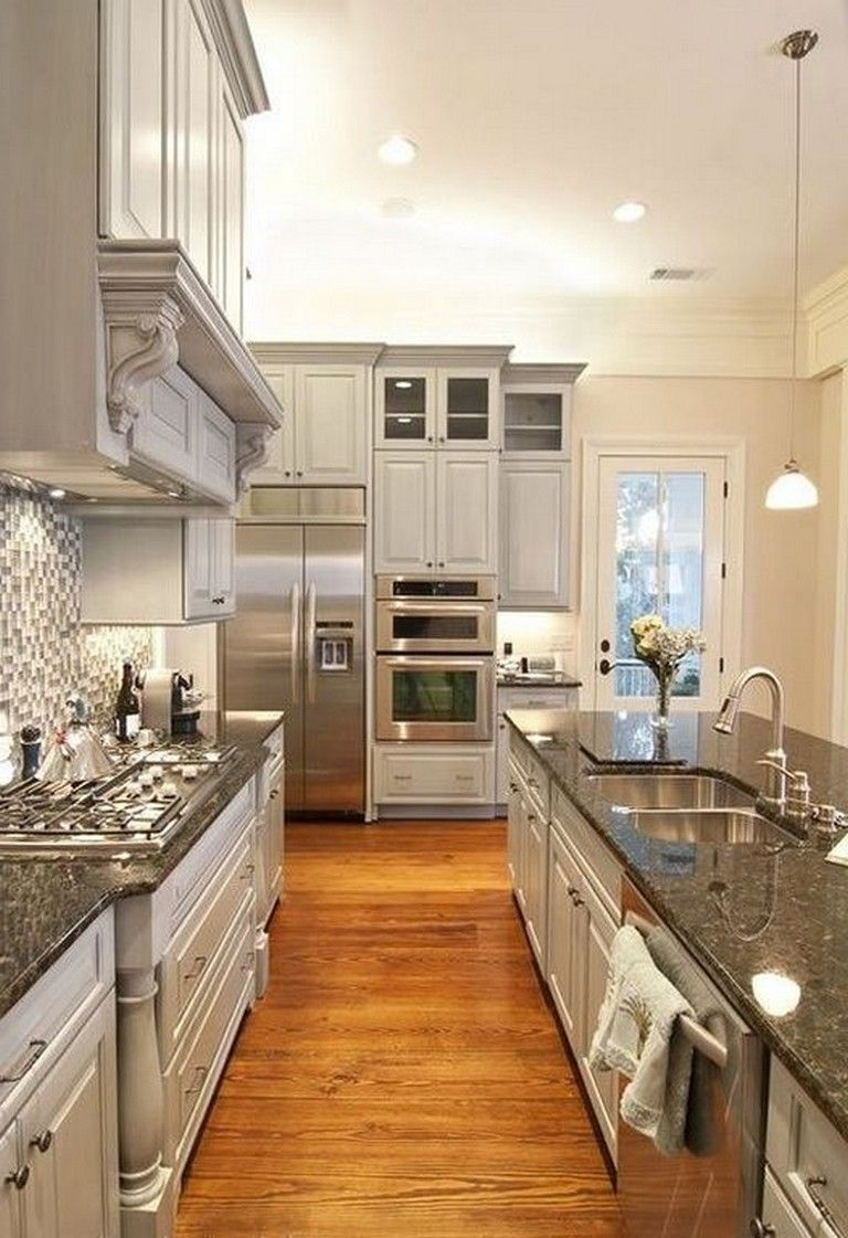 20+ Stunning Light Cabinets Dark Countertops Favorite ...