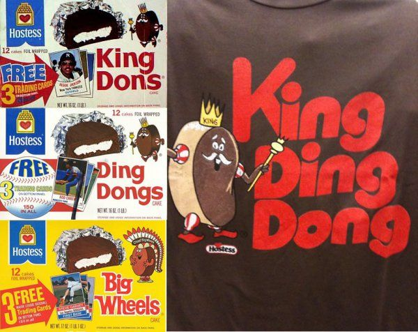 Hostess King Dons Ding Dongs With