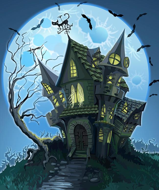 ведьмин дом рисунок видом деятельности