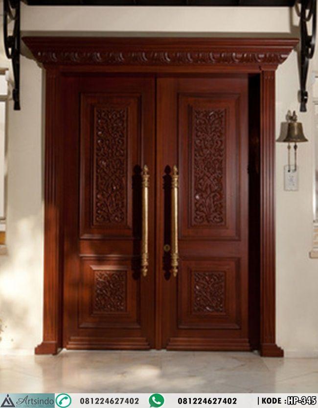 Model Pintu Utama Ukiran Klasik Mewah Hp 345 Spesifikasi
