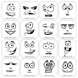 Funny faces cartoon drawings | faces | Pinterest | Funny, Cartoon ...