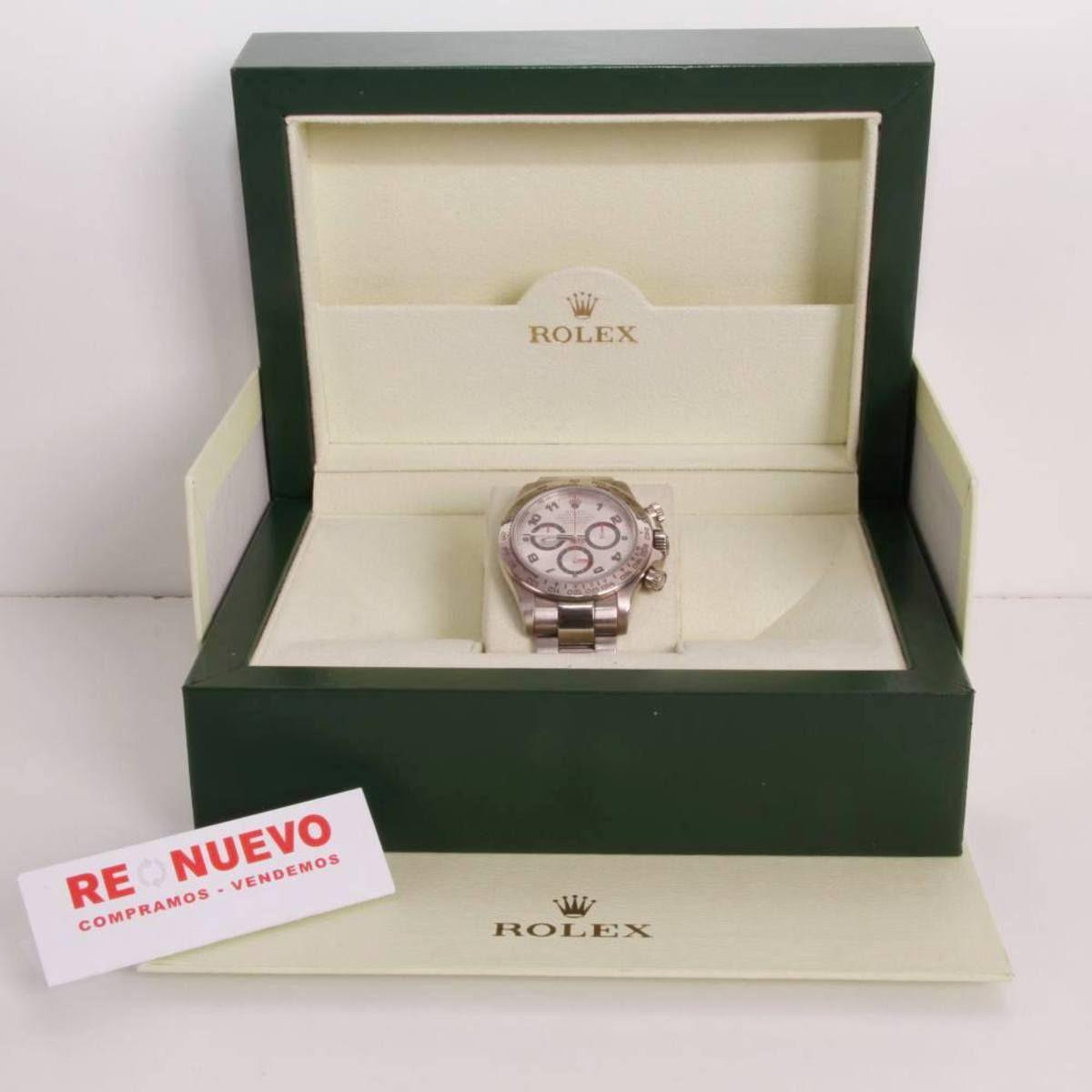 0707b6e2f73cf Reloj ROLEX COSMOGRAPH DAYTONA 116509 oro blanco E290106