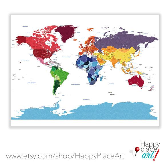 Detailed world map with city labels world map poster play room detailed world map with city labels world map poster play room world map push pin map travel map world map push pin world map canvas gumiabroncs Gallery