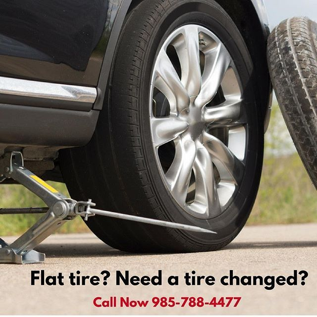 REPOST @premiermobilemechanicservic: You have a flat tire ...