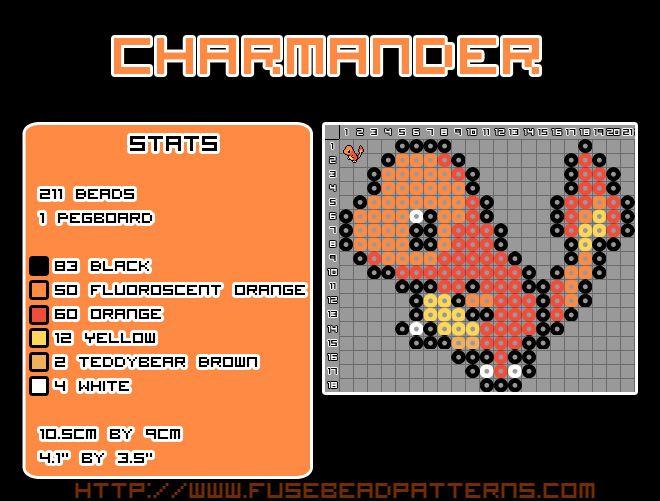 Charmander Template   Ideas   Pinterest