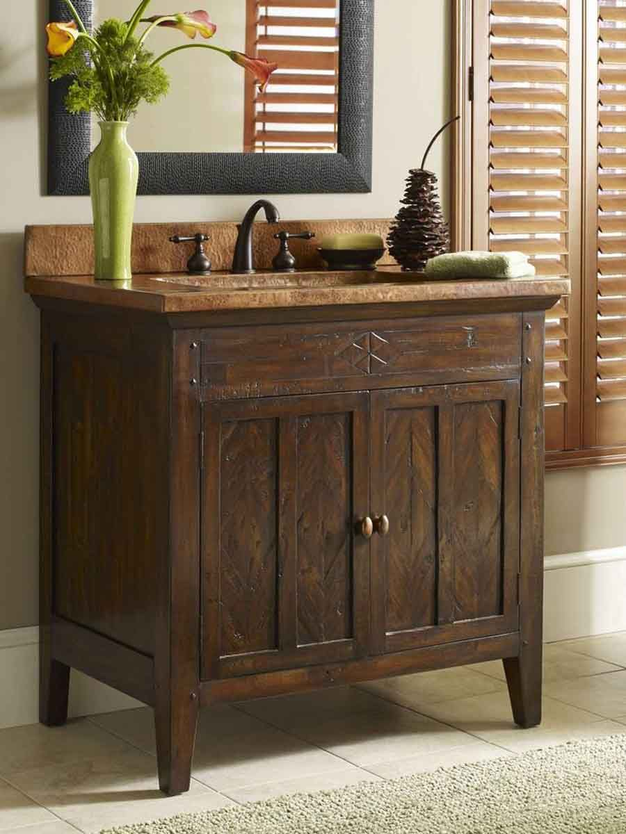 10 bathroom vanity ideas to jump start your remodel our - Spanish style bathroom sinks and vanities ...