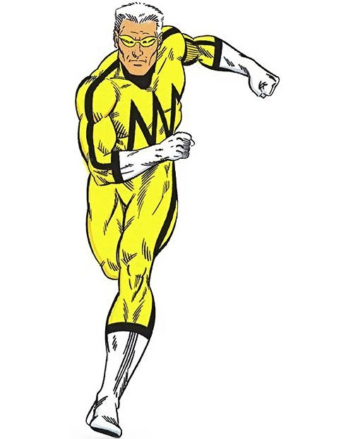 whizzer of the squadron supreme marvel comics running