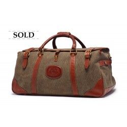 Ghurka Kilburn No. 156 Dobie Weave Vintage Suitcase