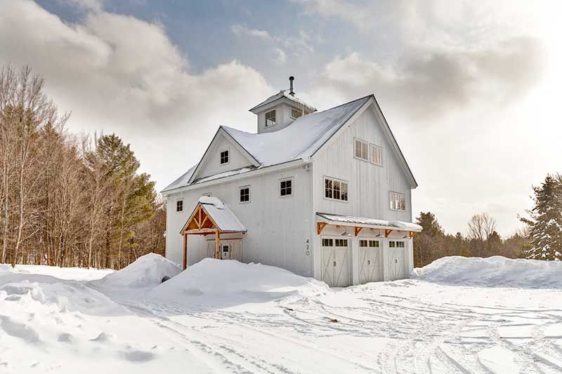 Custom Homes Photo Gallery | Vermont, Barn and Traditional
