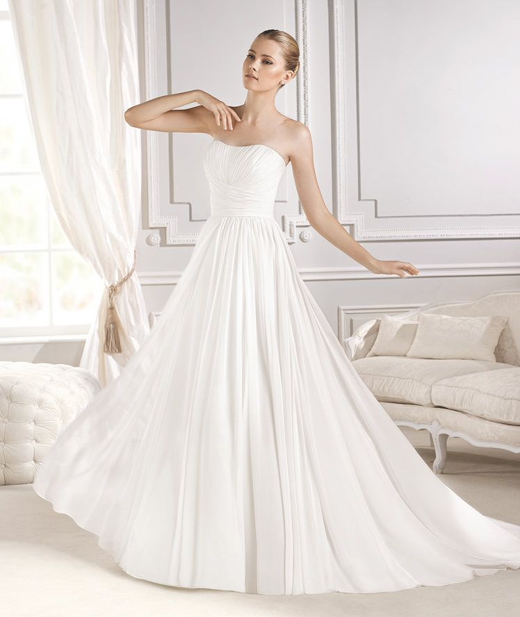 Lovely EITHEL wedding dress from the Fashion La Sposa collection