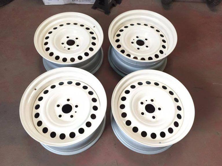 Banded Steel Wheels 18 Vw T5 T6 5x120 Tamar Wheels Steel Wheels Vw T5 Steel