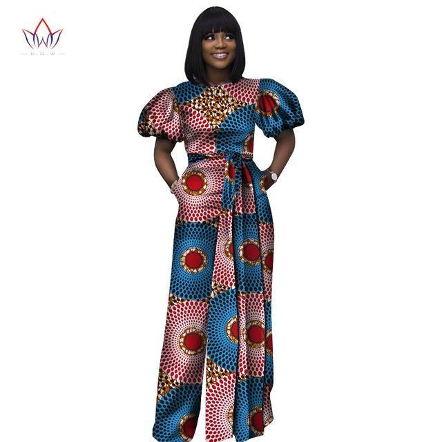 6fddeb4b5e78 african women jumpsuit overalls women neck dashiki pants plus size short  sleeve Jumpsuit 5xl-D1141