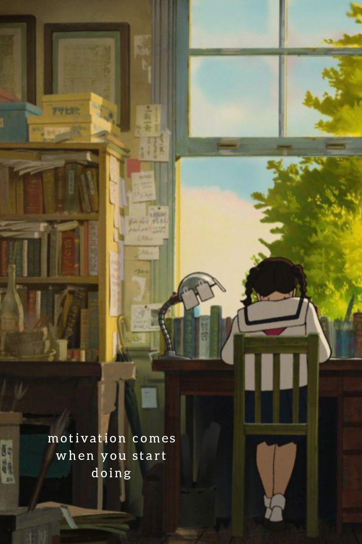 Study Motivation Wallpaper Ghibli Artwork Anime Scenery Wallpaper Anime Scenery