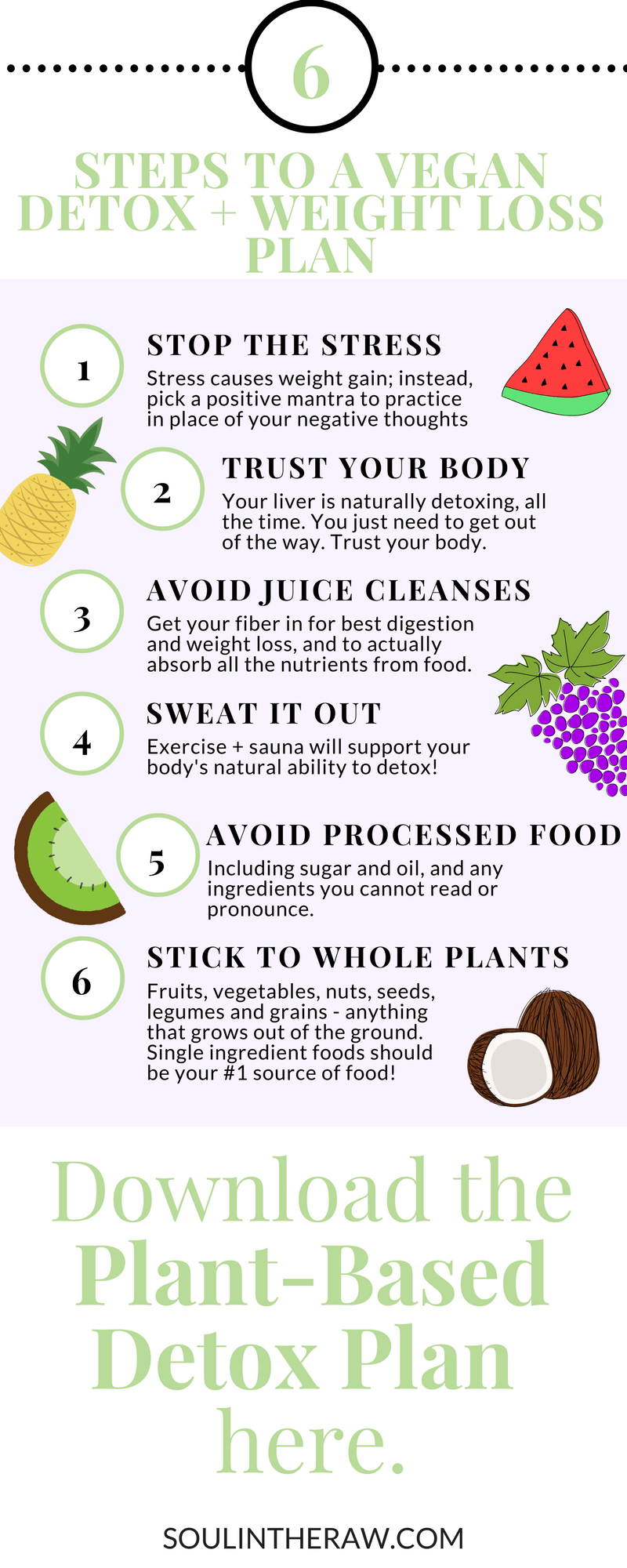 Pin On Soul In The Raw Plant Based Diet Tips