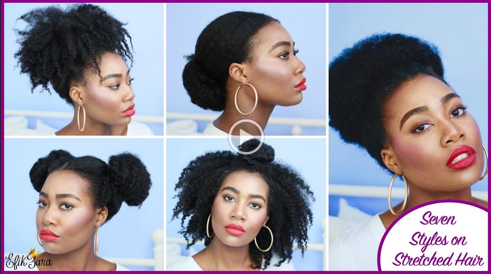 super easy styles on stretched natural hair curly nikki