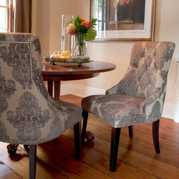 Costco: Madison Grey Damask Chair 2-pack in 2019 | Dining ...