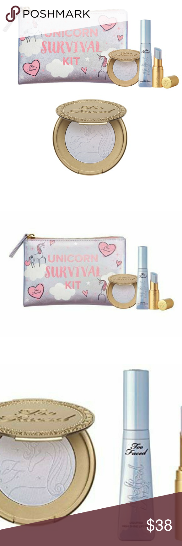 MUST SEE TOO FACED UNICORN SURVIVAL KIT Boutique Too
