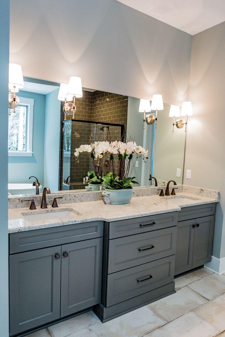 Kelly Cruz Interiors Bathroom Design Bathroom Interior Design Sconces Bathroom Mirror With Sconces [ 1296 x 864 Pixel ]