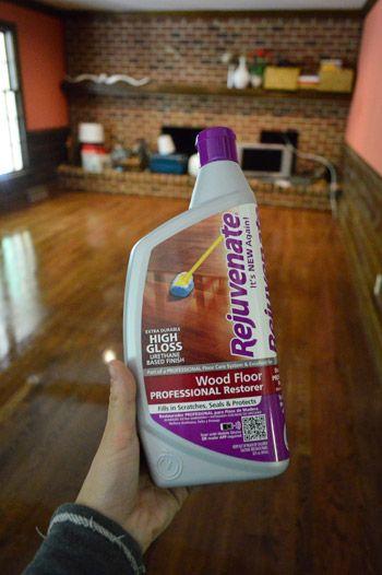Rejuvenate Wood Floor Professional Restorer To Shine Up Old
