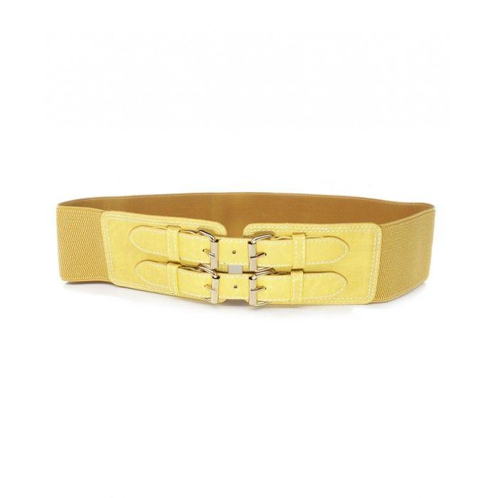 Cinto Clasp Two Yellow R$ 19,90 ACESSÓRIOS .:: Pimenta Chic Moda ::.