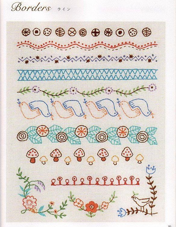 https://flic.kr/p/LcDcZd | Página de libro japonés de bordado ...