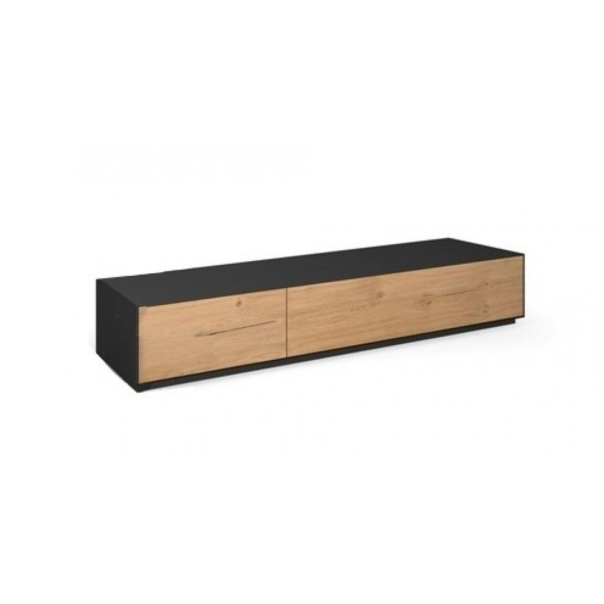Tv Kast Dressoir Eiken.Tv Meubel Sokkel Dressoir Brooklyn Eiken Metaaal Br10 S2