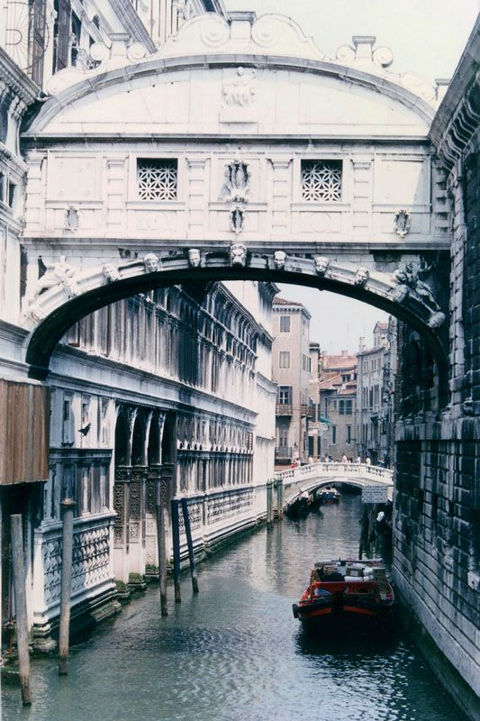 Bridge of Sighs, Venice, Italy Copyright: David Bezanson