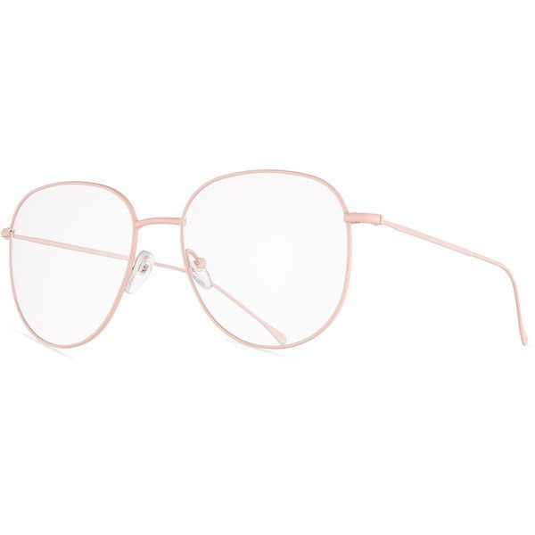 9d01e901a3 Prism San Diego Square Metal Optical Frames (260 NZD) ❤ liked on Polyvore  featuring