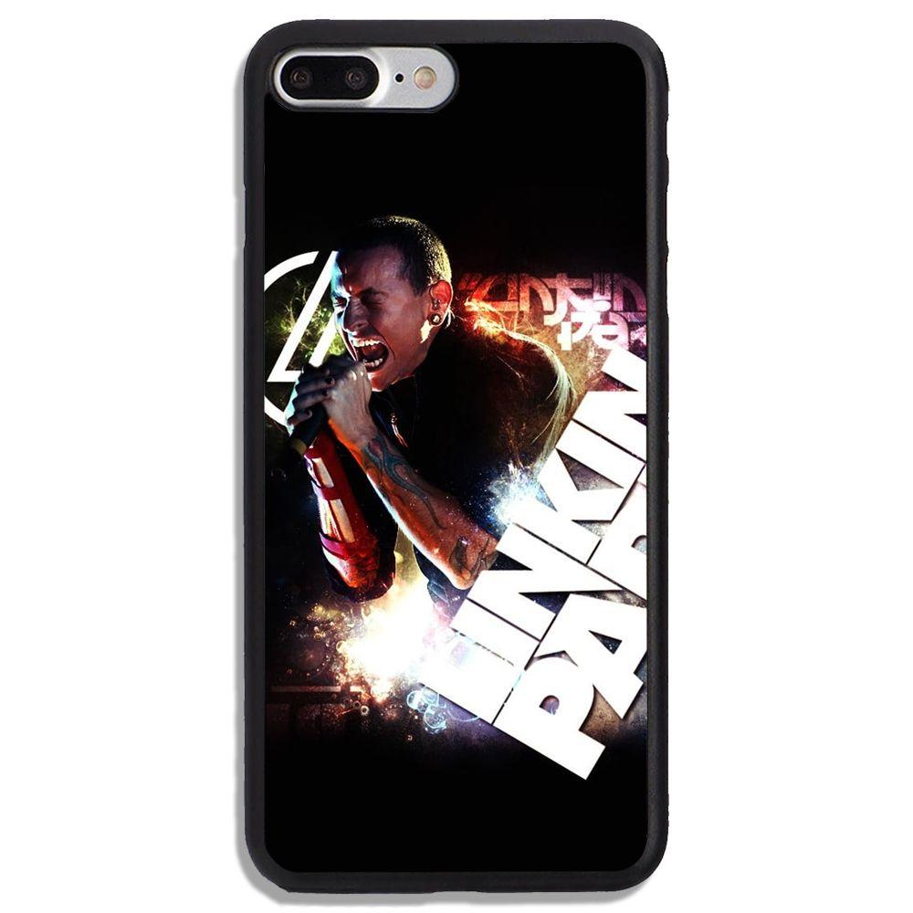 Chester Bennington Linkin Park Print On Hard Plastic Cover Phone ...