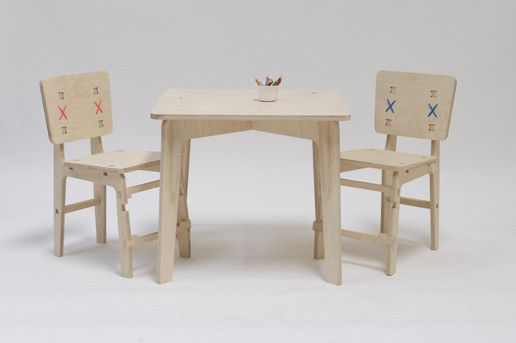Childrens chair & table set | Lead time, Plywood and Birch